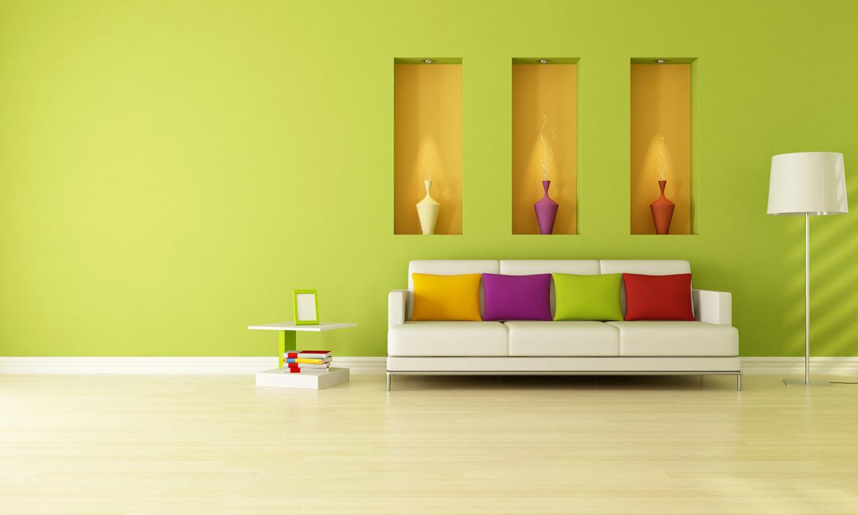 Productos de pintura casablanca for Pintura pared interior colores